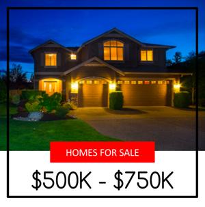 Lake Stevens Homes For Sale $500,000 - $750,000