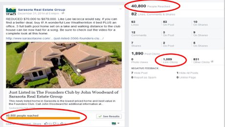 Sarasota Homes with 40000 ad impressions get noticed
