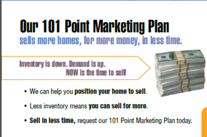Selling Your Home 101 PT Marketing Plan