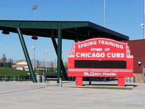 Spring Training - Cubs - Sloan Park