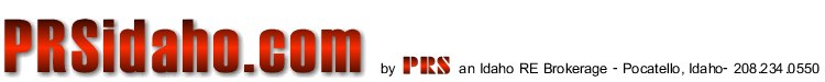 Pocatello real estate logo