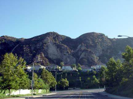 Stevenson Ranch hills