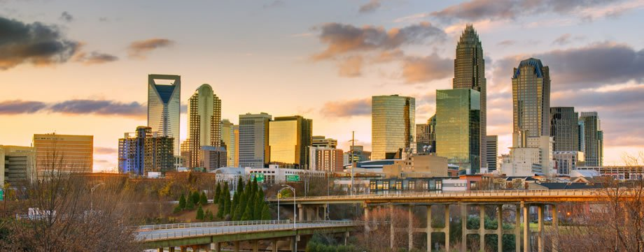Downtown Charlotte Skyline