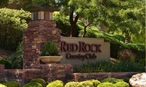 Red Rock Country Club Monument