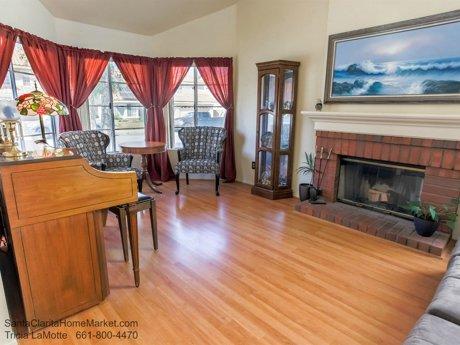 20434 Kesley St Santa Clarita CA 91351 fireplace