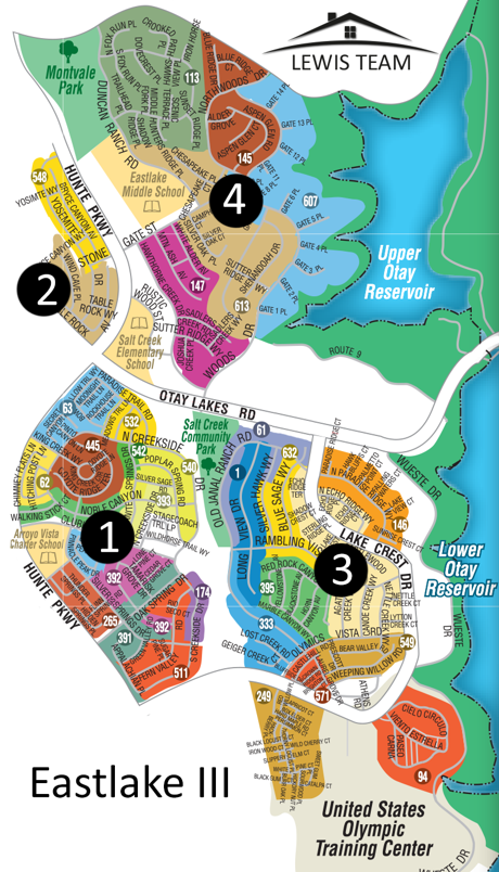 Eastlake III Map