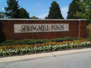 Springmill Ponds in Carmel Indiana