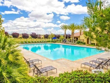 West Creek Community pool in Valencia CA