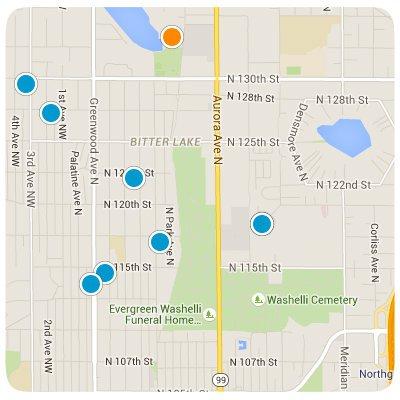 Bitter Lake Interactive Map Search