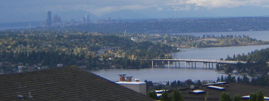Somerset View toward Lake Washington
