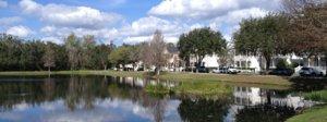 Lakefront Homes in Lake Evalyn neighborhood in Celebration