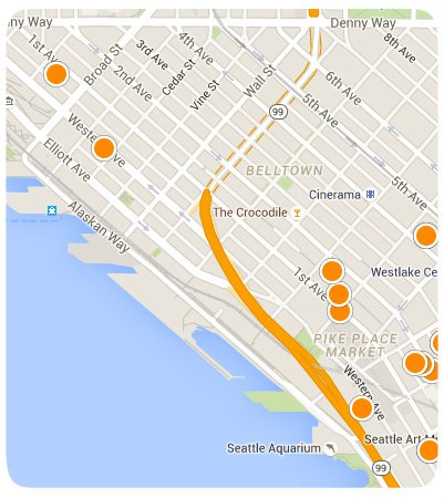 Belltown Interactive Map Search