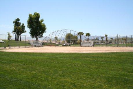 Victoria Grove Riverside Califonria baseball fieled