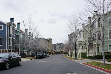 townhouses at Village at Riverwoods in Provo Utah