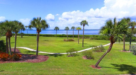 The Sarasota Bay views from condos at Windward Bay are stunning