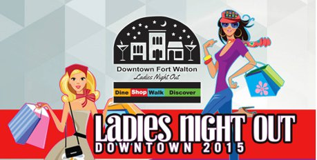 Ladies Night Out Downtown 2015 promotion