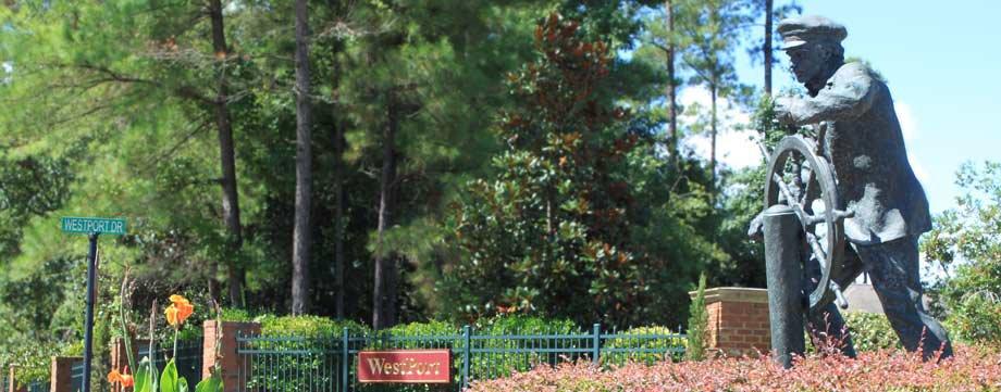 Westport Leland NC Gate