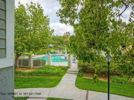 26853 Claudette St Unit 141 Santa Clarita CA 91351 swimming pool view