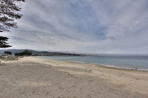 Del Monte Beach in Monterey