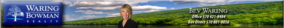 Search Real Estate in Poconos with Bev Waring to Find Poconos Homes