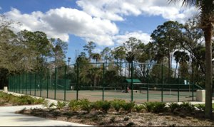 Tennis Courts in Celebration Florida