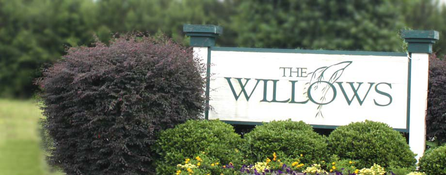 The Willows in Leland Entrance
