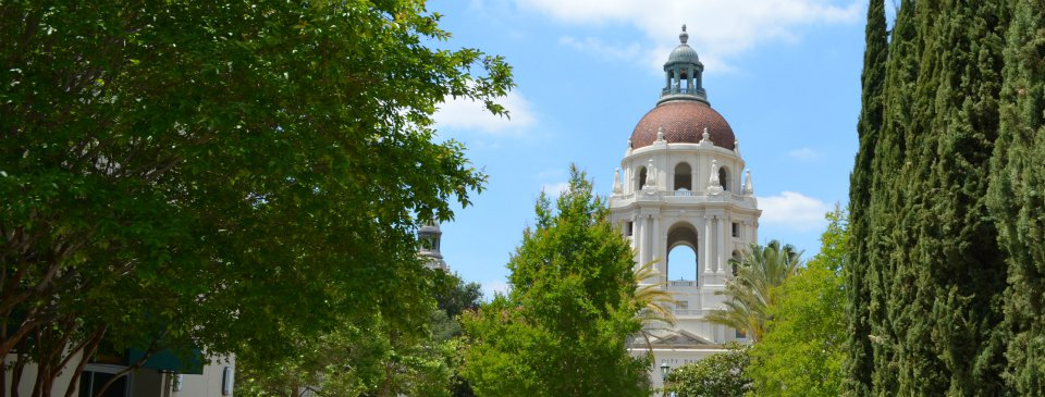 Pasadena City Hall - View from Old Pasadena