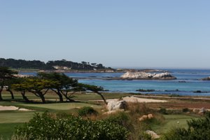 Pebble Beach Ocean Front Trail