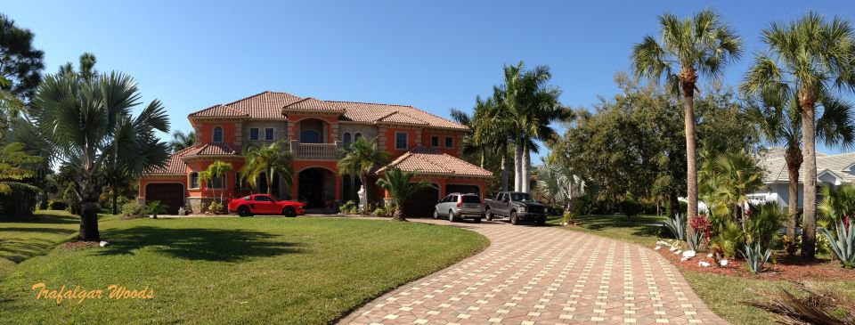 Trafalgar Woods a gated community in Cape Coral Florida