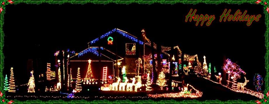 Fredericksburg Homes Realty Happy Holidays banner