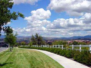 Valencia Westridge walking trails