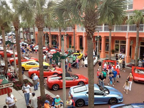 Celebration Exotic Car Show in Celebration Florida
