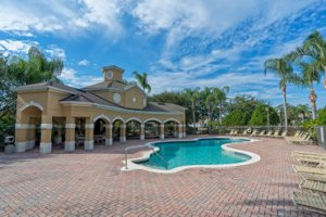 Community pool in Nona Crest Lake Nona