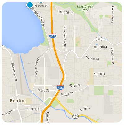 Renton Interactive Map Search
