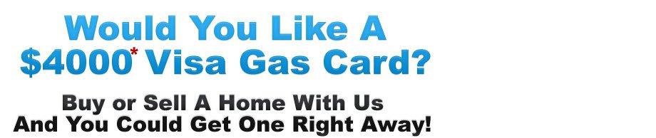 Visa Gas Card Give Away - Homes of California
