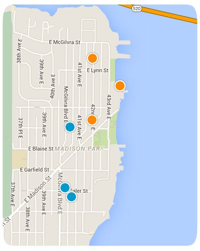 Madison Park Interactive Map Search