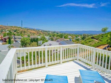 22805 Acacia Ct Santa Clarita CA 91390_view from the deck
