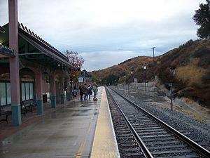 Santa Clarita Metrolink Station