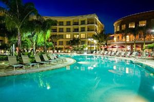 Melia Celebration Resort Pool at Night