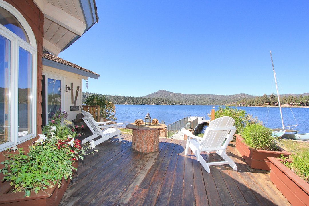 Big Bear lakefront homes