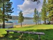 Lakefront acreage lot