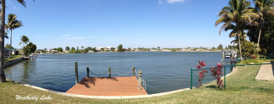 Weatherly Lake at Emerald Cove a gated community Cape Coral