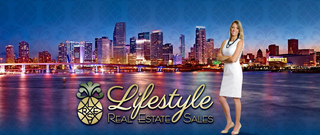 Lifestyle Real Estate Logo and Photo of Julie Frederick