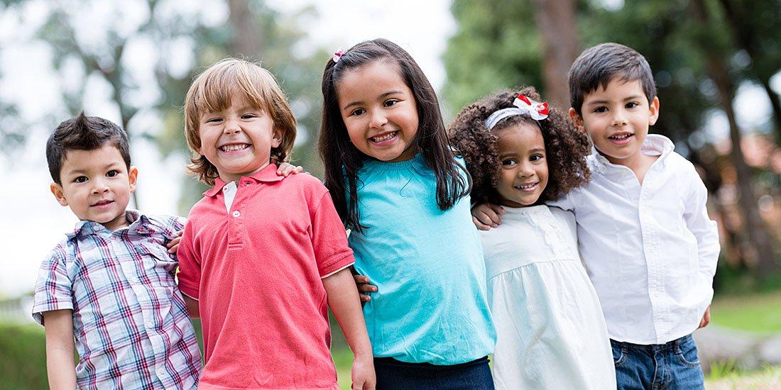 Ventura County School Children at Playground