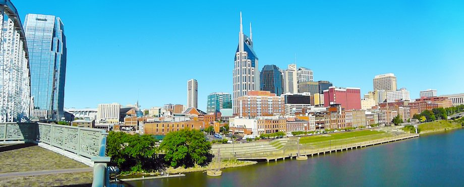 The Nashville Skyline courtesy of Holly White Photography Copyright 2012
