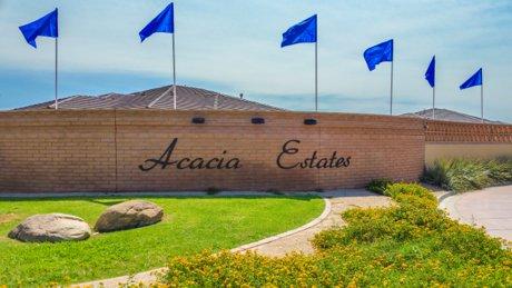 Acacia Estates Sign