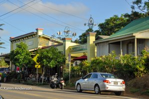 The roadside village of Hawi features art galleries, boutiques, coffee shops and restaurants.