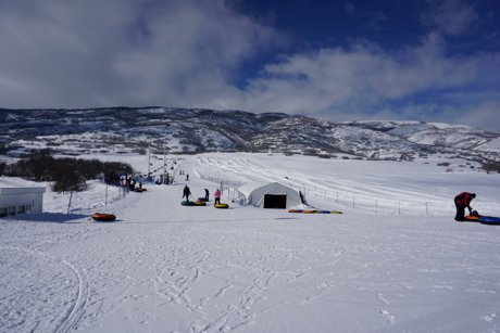 Soldier Hollow tubing, midway Utah