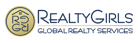 realty girls, global realty services company logo