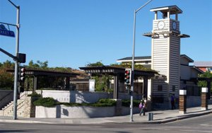 Metro Link Station in Newhall